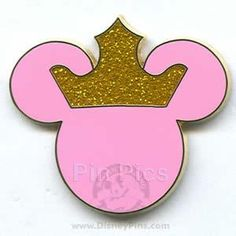 HAVE - Mickey Mouse Icon - Pink with Crown
