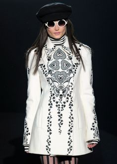 Betsey Johnson fall/winter 2012-something like this is about the only time i would wear white