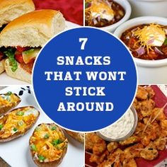 7 Foods That Won't Stick Around! We've rounded up the top party foods recipes for hosts or party goers that guarantees to be finger licking good! On: http://blog.gifts.com/entertaining-2/7-foods-that-wont-stick-around