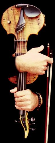 special made 6 string electric violin.