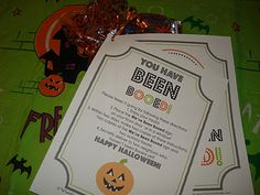 East Coast Mommy: Halloween Tradition -- Booing!