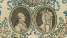 Louis XVI and Marie Antoinette in profile
