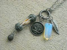 YOU CAN GET ONE TOO!    RESERVED LISTING For Debbi Bottle Charm Necklace by InkandRoses13 $23.99