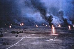Oil Fires in the Gulf War