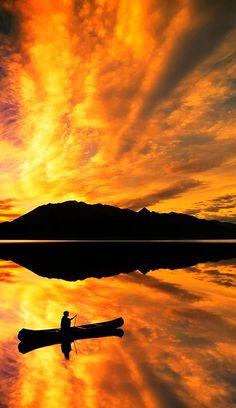 Lake Bennett, Yukon Territory, Canada