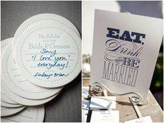 wedding advice, ssome advic, blue weddings, navy blue reception
