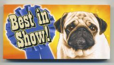Best in Show Motion Flip Book Pug