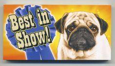 Best in Show Motion Flip Book Pug