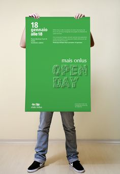 Open Day for no profit organization by Federica Rizzo