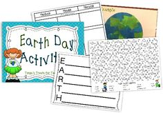 7 Fast Activities for Earth Day and Printables - Teach Junkie
