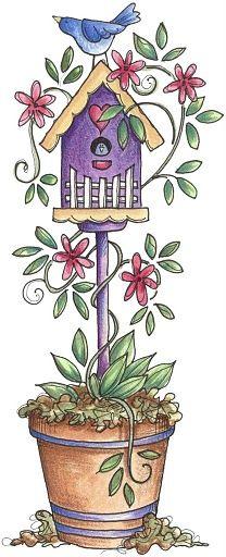 Laurie Furnell Clip Art Bird