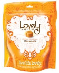 Review and Gluten Free Giveaway – The Lovely Candy Company Certified Gluten Free caramel and chewy candy - $60 value: http://glutenfreerecipebox.com/gluten-free-caramel-candy-review-giveaway/ #glutenfree #giveaway
