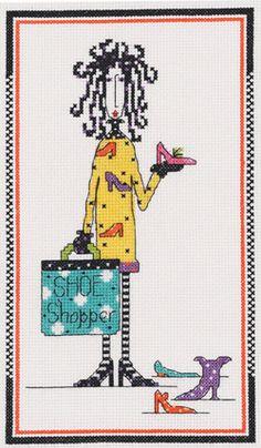 Shoe Shopper (Dolly Mama's kit)