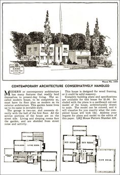 1935 Ladies Home Journal Plans - No. 330