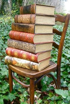 Books as art.