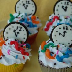 Count-Down Cupcakes
