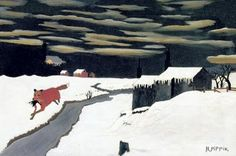 horace pippin, the getaway fox, 1939.