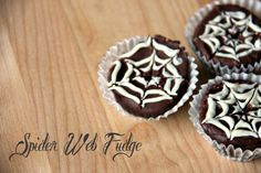 Spider Web Fudge | Halloween