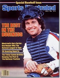 Gary Carter on the cover of Sports Illustrated