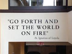a word of advice by SJU Undergraduate Admissions, via Flickr
