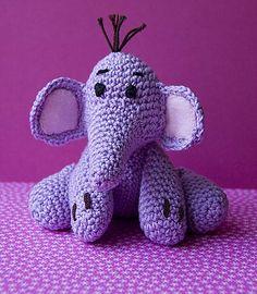 Heffalump - Pattern: http://www.ravelry.com/patterns/library/heffalump-amigurumi-doll-a-friend-of-winnie-the-pooh