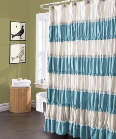 Turquoise Isla Shower Curtain