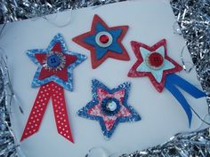 4th of July Magnets