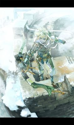 Link with cool armor?