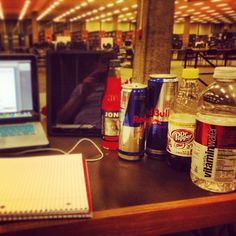 Getting ready for finals week! Photo by jeffersonwest