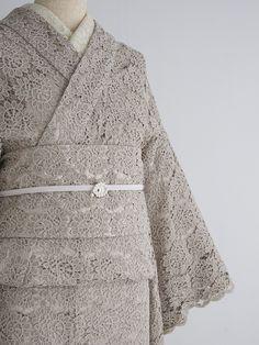 full lace kimono