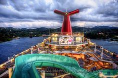 our lido deck on carnival liberty