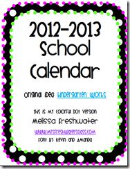 Free 2012-13 Planner Just print and put in a three ring binder