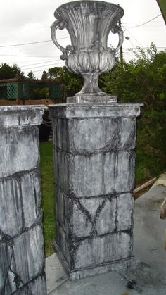 columns for the graveyard