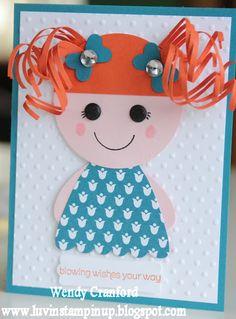 Luvin Stampin: Lalaloopsy Girls... Fun Card!