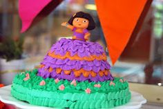Details of my Dora Birthday Party!