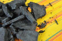 carvão doce para a festa do minecraft