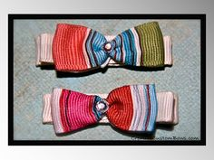 Baby Bow Tie Hair Clippies