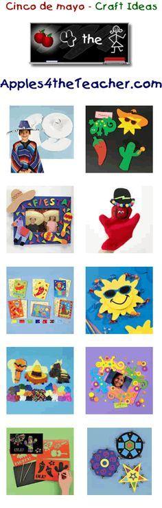 Fun cinco de mayo crafts for kids - Cinco de mayo craft ideas for children.