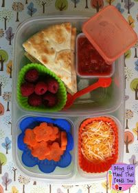 Biting The Hand That Feeds You: Pita Pizzables Bento