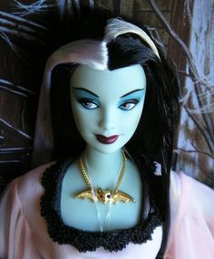 Lily Munster Barbie....love!!!