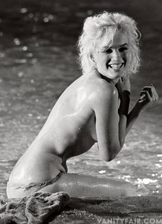 THE LOST MARILYN NUDES—OUTTAKES FROM HER LAST ON-SET PHOTO SHOOT