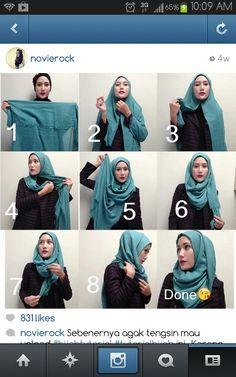 Rocking your hijab with @novierock
