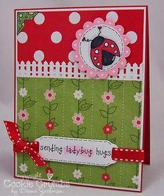 paper cooki, paper crafting, card
