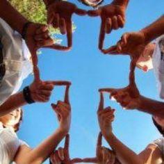 Cross with Hands