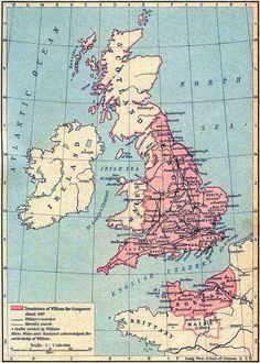 Dominions of William the Conqueror