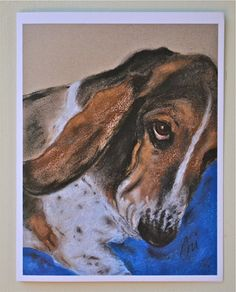 Onslow Basset Hound Dog Art Note Cards By Cori Solomon by terikor