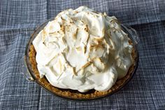 Toasted S'more Pie