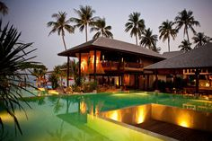 KOH PHA NGAN | Anantara Rasananda Koh Phangnan Villa Resort & Spa hotel, Thailand | via cntraveller.com