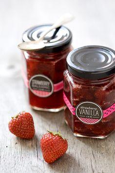 Strawberry Vanilla Jam and Balsamic Strawberry Jam