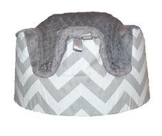 Bumbo Seat Cover in Chevron Gray